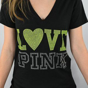 PINK Victoria's Secret Tops - Victoria Secret V Neck Tshirt Sz: S